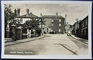 Church Street, Caistor. A.W. Bourne. Real Photo. Postcard.