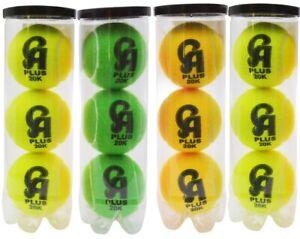 CA Plus tennis balls tape balls Soft balls Cricket Balls Pack Of 12
