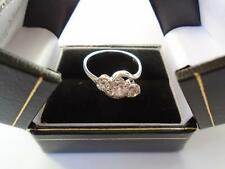 DIAMOND TRILOGY RING OUTSTANDING GENUINE  £400 OFF XMAS SPECIAL OUTSTANDING