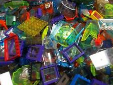 1lb of Assorted Translucent Lego Bricks & Parts Pieces Sold in Bulk by the Pound