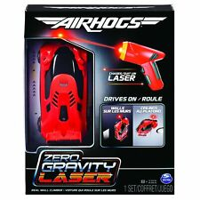 Air Hogs 6054126 Zero Gravity Laser Laser Guided Real Wall Climbing Race Car Red
