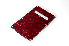 Red Pearl Back Plate Tremolo Cover  - Tapa trasera roja guitarra eléctrica