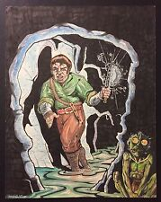 Hobbit Drawing Illustration Tolkien Bilbo Baggins Gollum Lord Of The Rings