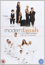 Modern Family Complete 3rd Season Dvd Brand New & Factory Sealed