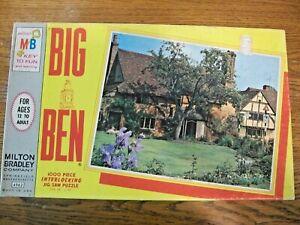 "1000 pc 1965 Vintage Big Ben (MB) Puzzle: 11. Home in England 26"" X 20"""