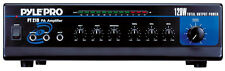 NEW Compact PA Mixer Speaker Amp.Pro Audio Amplifier.Gear.70v output.S