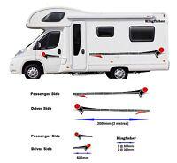 Motorhome Horsebox Caravan Campervan Decal Vinyl Graphics Stickers Design MH0011