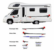 Motorhome Horsebox Caravan Campervan Decal Vinyl Graphics Stickers Design MH0011