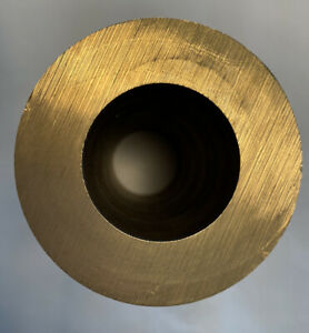 0.5 ID x 1 OD Bearing Bronze Hollowbar 932 96.0 Cast Oversized SAE 660