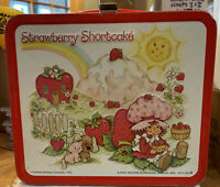 Strawberry Shortcake Metal Lunchbox Vintage 1980 Aladdin