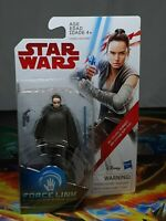 Star Wars Force Link Rey (Island Journey) Figure Hasbro 2017 Aus Seller