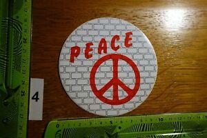 Alter Aufkleber Frieden PEACE