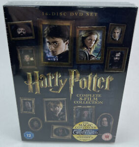 Harry Potter - Complete 8-film Collection 16 Disc DVD Boxset - New & Sealed