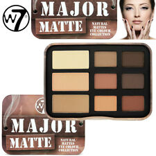 W7 Cosmetics - Major Matte Natural Mattes Eye Kleur Oogschaduw Shade Collection