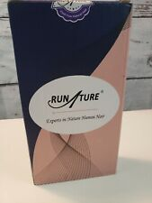 """RUNATURE 20"""" Black Invisible Wire Hair Extensions Flip In Hair #1B Hairpiece"""