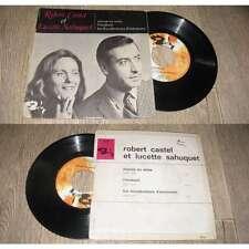 Robert Castel Et Lucette Sahuquet – Macias En Seine French EP Sixties Barclay