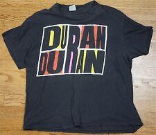 Rare Vintage Duran Duran 1988 Abstract Idealistic Romantic Band Tour Shirt XL