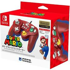 <NEW> Hori Controller For Nintendo Switch Game Cube GC Style Red Super Mario Ver