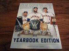 June 2016 Houston Astros Game Program YEARBOOK Edition Altuve Correa Keuchel