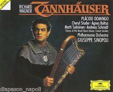 Wagner: Tannhauser / Domingo, Studer, Sinopoli - CD Deutsche Grammophon