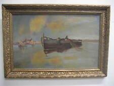 KARL WILHELM BOHLIN, 1869 - 1928, Fischerboot, Malmö, Schweden