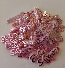 72pcs lot,Baby shower signs for Girl! Can be used as decoration, keepsake, favor