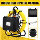 300FT Pipe Inspection Drain Sewer Camera /30M Cable Pipe Camera LCD Moniter