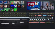 Video switcher mixer with NewTek NDI Inputs