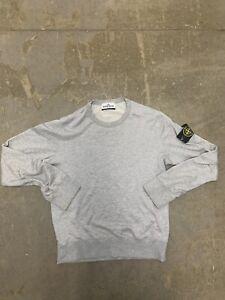 Stone Island Gray Sweatshirt Size S