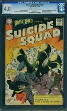 Brave and the Bold #25 CGC 4.0 DC 1959 1st Suicide Squad! Movie! VG! F3 121 cm