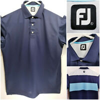 FootJoy FJ Mens XL Golf Shirt Polo Blue