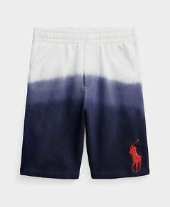 Polo Ralph Lauren Little Boys Big Pony Dip-Dyed Cotton Terry Short size 5
