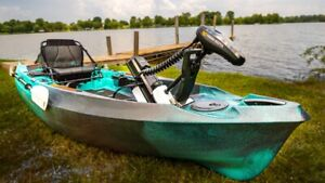2020 Old Town Sportsman AutoPilot 136 High-Tech Motorized Kayak , FULLY LOADED!