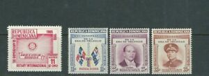 Dominicaine République 1955 2 Jeux Rotary Club, General Trujillo VF MNH