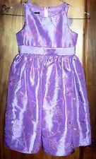Sz 4 Pinky/Purple Embroidered Taffeta PARTY DRESS/Semi-FORMAL Wear BNWT
