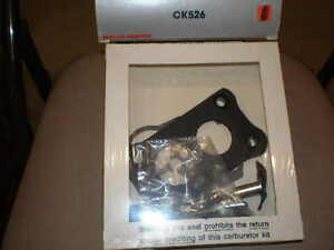 "H-2 CK526 CARBURETOR KIT, FORD 140""ci, 1977, MERCURY 140""ci, F / 77-78"