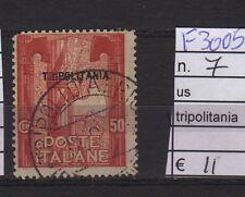 FRANCOBOLLI COLONIE TRIPOLITANIA USATI N°7 (F3005)