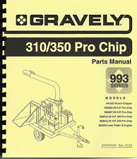 Promark-Gravely 310 Chipper Parts Manual