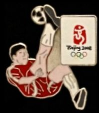 Olympic Pin Badge ~ Soccer / Football ~ 2008 ~ Beijing