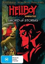 Hellboy Animated - Sword Of Storms (DVD, 2007)-REGION 4-Brand new-Free postage