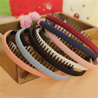 Women Hair Bands Hair Hoop Headband with Teeth Girls Hair Accessories HairbandYA