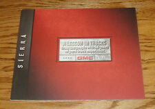 Original 2000 GMC Sierra Sales Brochure 00