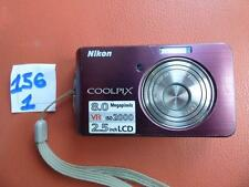 Nikon Coolpix S520 8.0 MP Photo Camera Portable Holidays Pocket Small