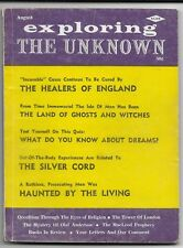 EXPLORING THE UNKNOWN - AUGUST 1963 - HAUNTED BY THE LIVING