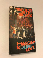 NEW KIDS ON THE BLOCK HANGIN' TOUGH LIVE 1989  VHS CBS
