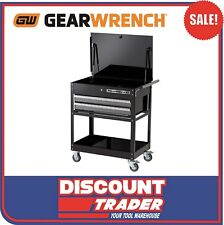 """GEARWRENCH 32"""" 2 Drawer XL Series Black & Silver Tool Trolley / Cart - 83152"""