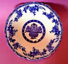 Large Blue And White Transferware Bowl - Brugge For James Kent - England