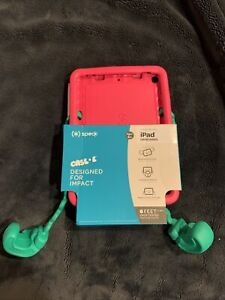 "Speck - Case-E Case for Apple iPad 10.2"" (7th Gen 2019 8th Gen 2020)pink Green"