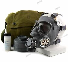 Genuine Finnish Army gas mask M-61. Full set Finland military gas mask