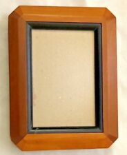 "Brown Black Wood 6.5X8.5"" Frame Holds 4X6"" Photo"